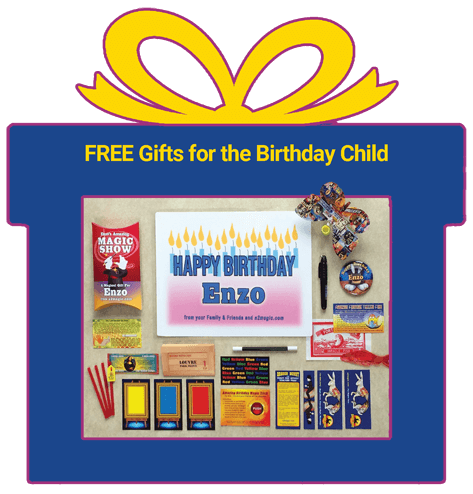 FREE Custom Gifts for the Birthday Child