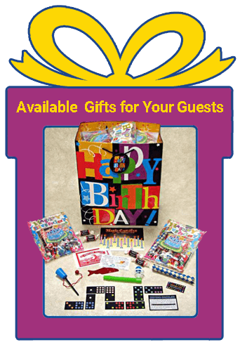 Birthday Party Goody Bags from MagicKidsBirthday.com
