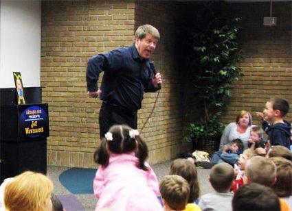 Michigan Kids Birthday Party Magician - Jeff Wawrzaszek