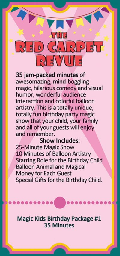 Magic Kids Birthday Party Magic Show 1